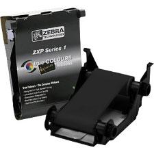 Zebra ZXP Series 1  Black Monochrome Ribbon K - 1000 Prints 800011-101