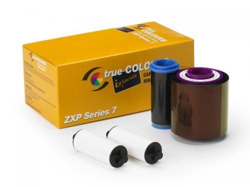 Zebra ix Series color ribbon for ZXP Series 7  1/2 panel YMCKO