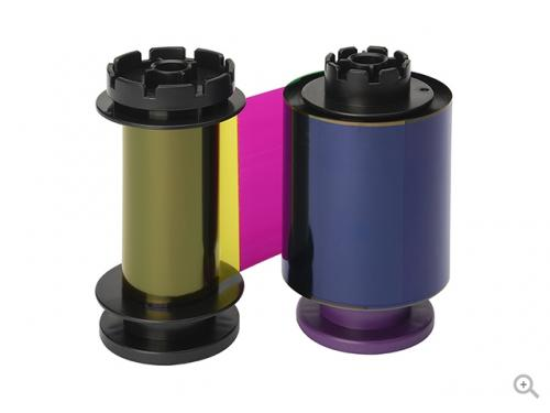 Evolis Full Color Ribbon for Badgy - YMCKO - 100 prints