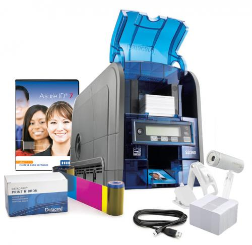 Datacard SD260 Single Sided Photo ID Card System