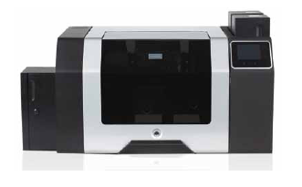 Fargo HDP8500 Dual Sided ID Card Printer and Flattener