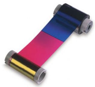 NiSCA Full Color Ribbon, YMCKO, 250 prints