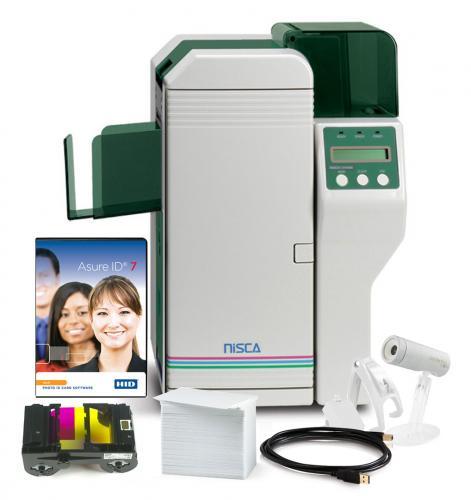 NiSCA PR5350 Dual Sided Photo ID System