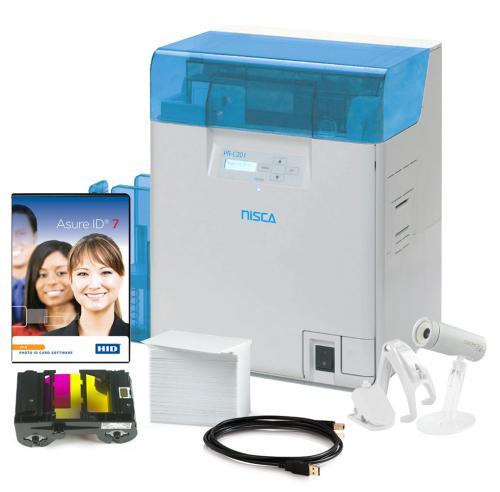 Nisca PR-C201 Dual Sided Photo ID System