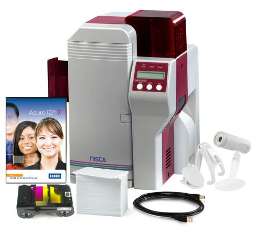 Nisca PR5360LE Single Sided Photo ID System