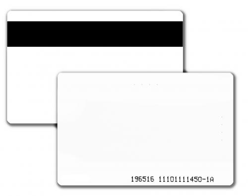 QuickShip Proximity PET Cards – Printable with Magnetic stripe - Comparable to HID 1536 - Qty 100