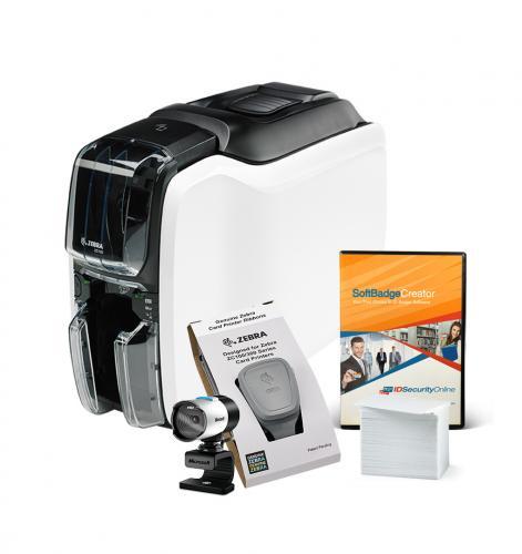 Zebra ZC100 Single-Sided Photo ID System