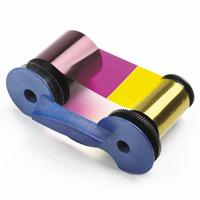 DataCard Half Panel Color Ribbon - SD160 - ymcKT