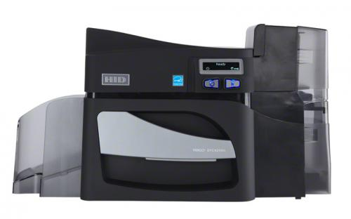 Fargo DTC4500e Single Sided ID Card Printer Same-Side Hopper