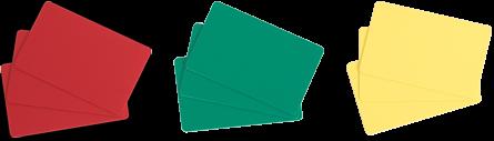 Evolis Color PVC Blank Cards