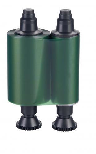 Evolis Green Monochrome Ribbon - 1,000 prints