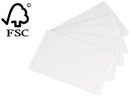 Evolis Paper Blank Cards - White