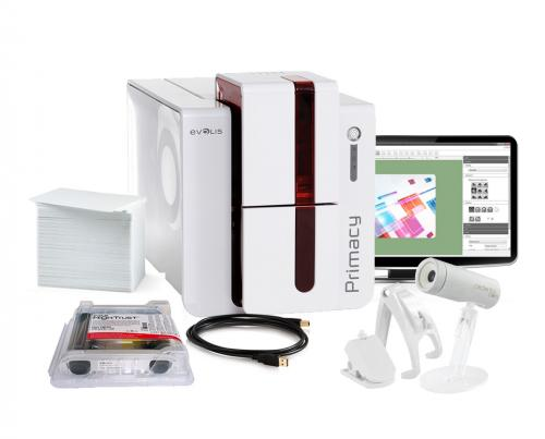 Evolis Primacy Dual Sided ID Card System for MAC