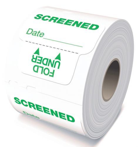 Expiring Screened Sticker