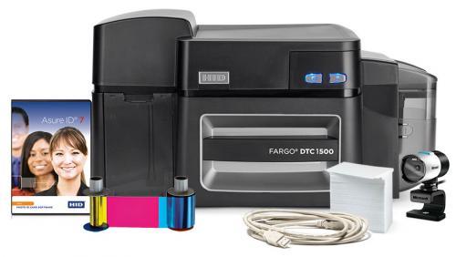 Fargo DTC1500 Dual Sided Photo ID System