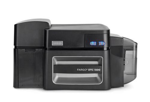 Fargo DTC1500 Dual Sided ID Card Printer