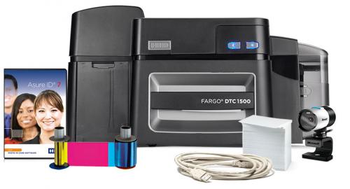 Fargo DTC1500 Single Sided Photo ID System