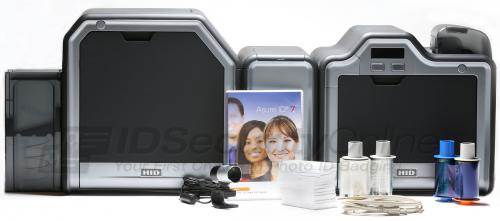 Fargo HDP5000 Dual Sided ID Card System with Single Sided Lamination