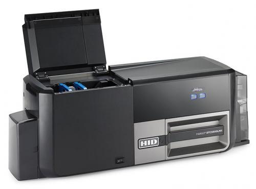 dtc5500lmx id card printer two material laminator - Id Card Printer