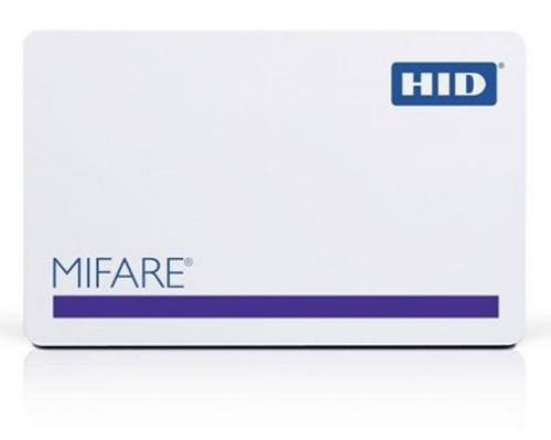 HID 3456 MIFARE Classic (4K) Composite Polyester 40%/PVC Card with SIO encoding – Qty 100