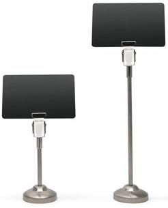 Evolis High Metal Buffet Stands