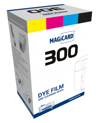 Magicard Color Ribbon - YMCKO - 300 Prints