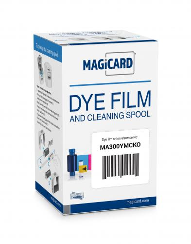 Magicard Full Color Ribbon - YMCKO - 300 prints