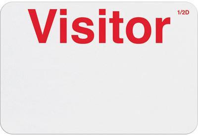 "Manual FRONTpart - Expiring Timebadge Half-Day - ""Visitor"""