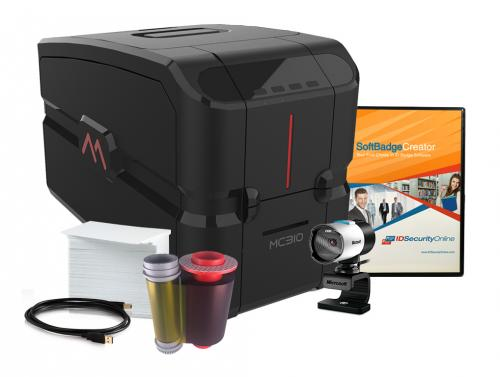 Matica MC310 direct-to-card Color Dual-Sided Photo ID System