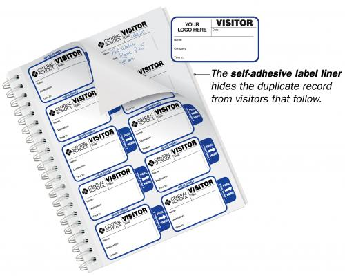 Most Popular Badges Sign-In Book for Corporations