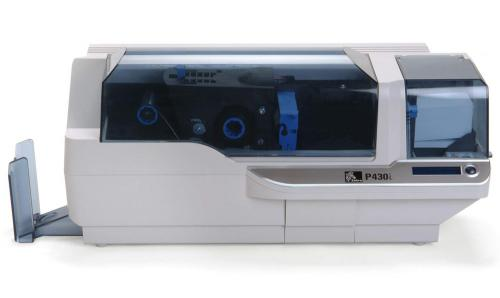 Zebra P430i Dual Sided ID Card Printer with Ethernet
