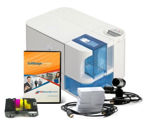 Nisca PRC101 Single Sided Photo ID System