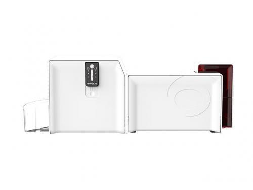Evolis Primacy Lamination LCD Duplex Expert ID Card Printer - Red