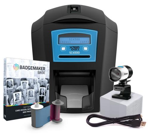 ScreenCheck SC4500 Dual-Sided Photo ID System