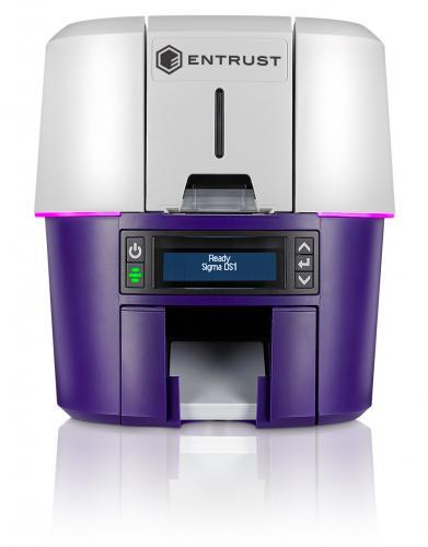 Entrust Sigma DS1 Single Sided ID Card Printer