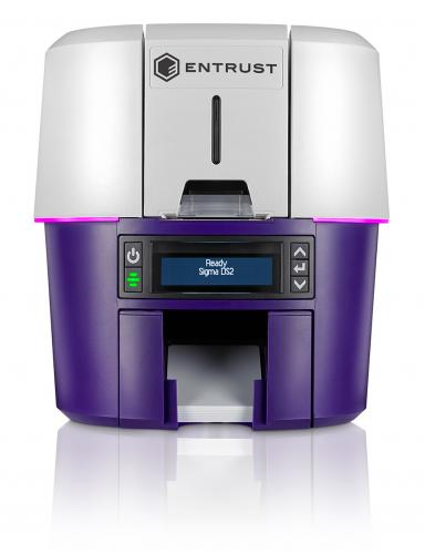 Entrust Sigma DS2 Dual Sided ID Card Printer (includes ISO Magnetic Stripe)