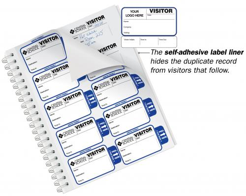 Sign-Out Badges Book for Corporations