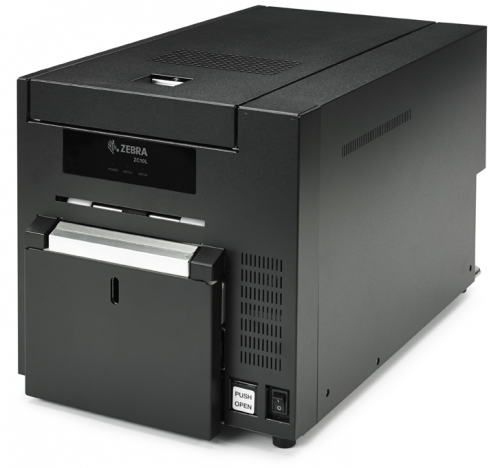 Zebra ZC10L Single Sided ID Card Printer