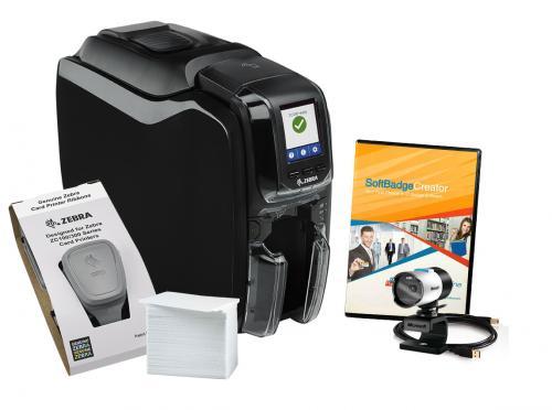 Zebra ZC350 Single Sided Photo ID System