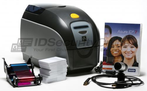 Zebra ZXP Series 1 Single Sided Photo ID System