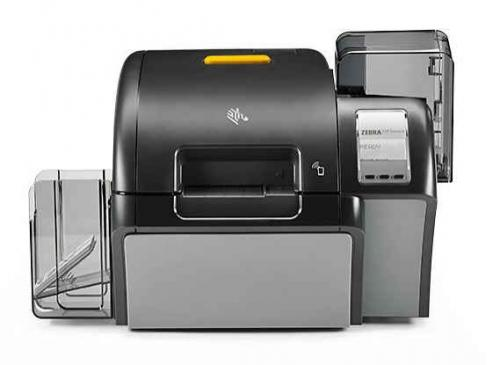 Zebra ZXP Series 9 Retransfer Single-Sided ID Card Printer with Wireless Networking