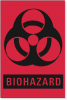 Biohazard Warning Label