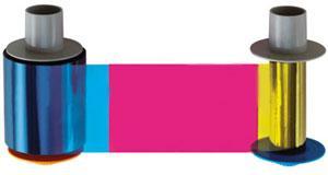 Fargo Full Color Ribbon - YMCKO - 500 Prints 45200 | Fargo Color ...