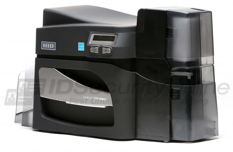 Fargo Dtc4500e Single Sided Id Card Printer
