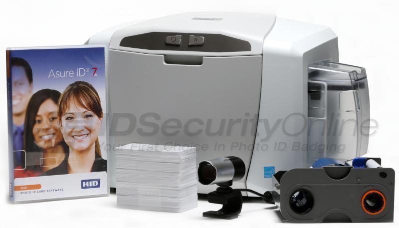 Fargo C50 Single Sided Id Card Printer System Fargo