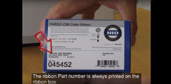 Fargo C50 - Ordering the Correct Ribbon for Your Printer