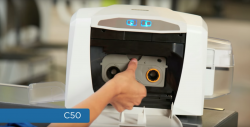 Fargo C50 Card Printer Overview