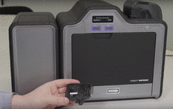How To Install A Magnetic Encoder On A HDP5000 Printer