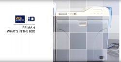 Unboxing the Magicard Prima 4 ID card printer and laminator